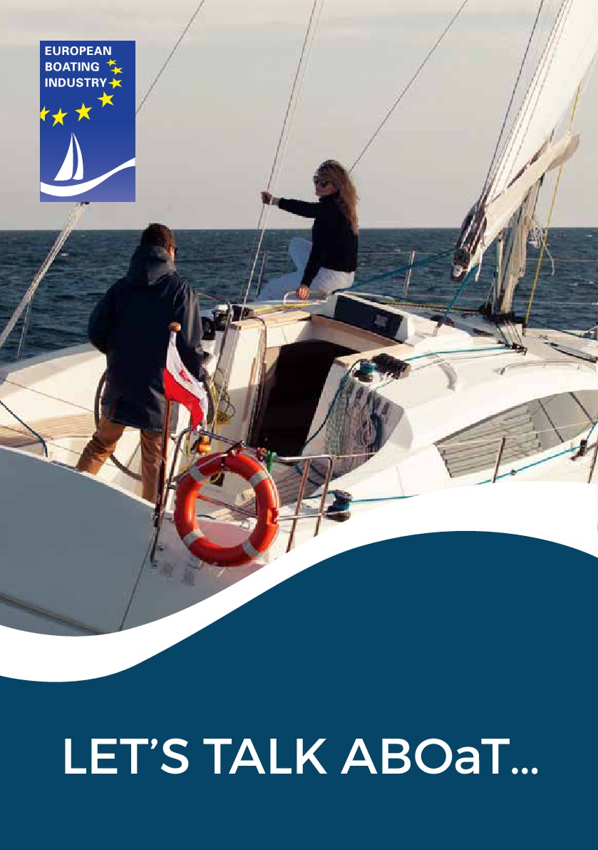 European Boating Industry Leisure marine voice in Europe Front cover