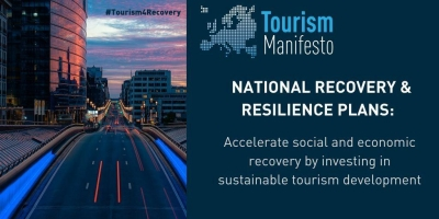 EBI and European Tourism Manifesto call for investment in sustainable tourism within national recovery plans